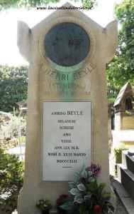 Tomba di Stendhal nel cimitero di Montmartre, Parigi