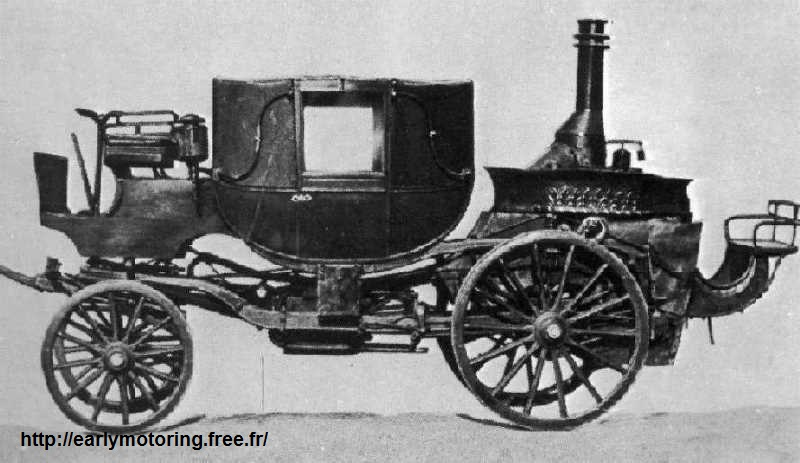 La carrozza Bordino, 1854