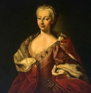Maria Giovanna Battista Clementi, Polissena d'Assia, 1730, Museo Cerralbo Madrid