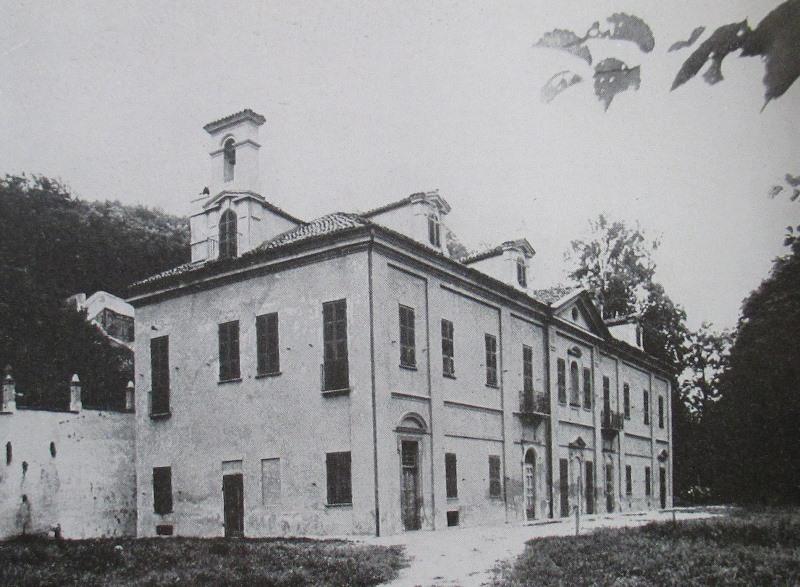 La villa intorno al 1975
