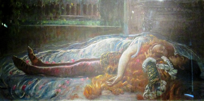 Angelo Dall'Oca Bianca, Morte di Giulietta e Romeo, Casa di Giulietta Verona