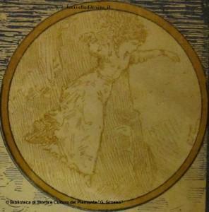Il salto di Alda dalla torre. Illustrazione di Edoardo Calandra, 1884.