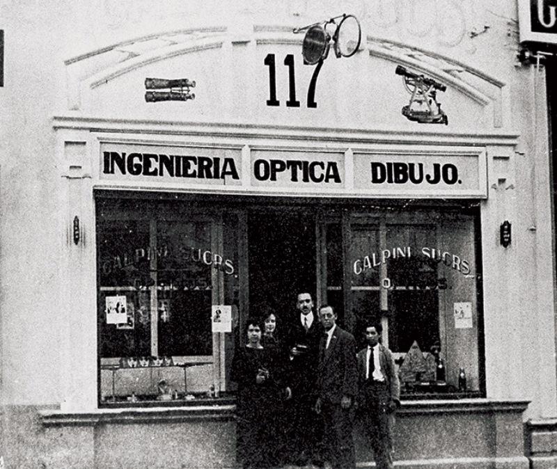 La succursale Calpini a Guadalajara. Immagine tratta dal sito www.calpini.com