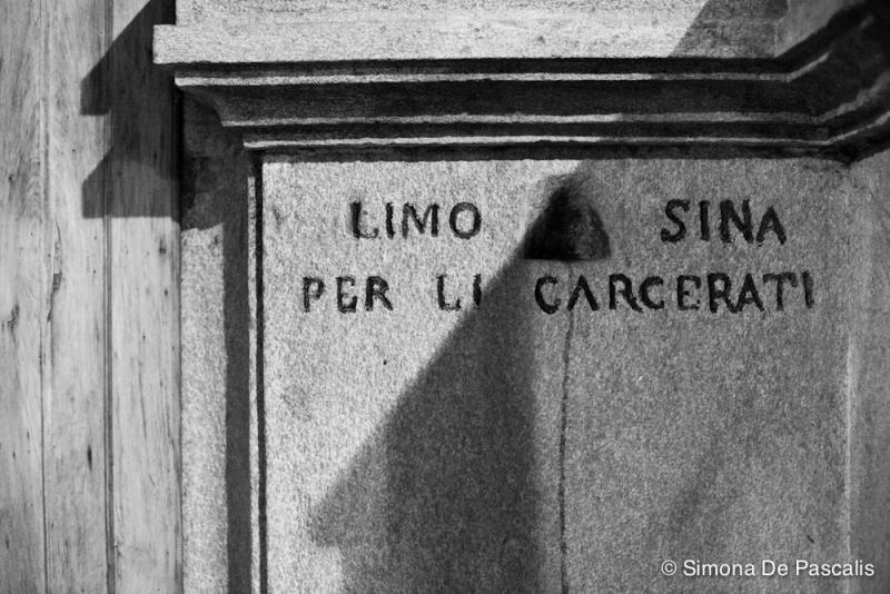 Chiesa della Misericordia, particolare dell'esterno. Photo by Simona De Pascalis
