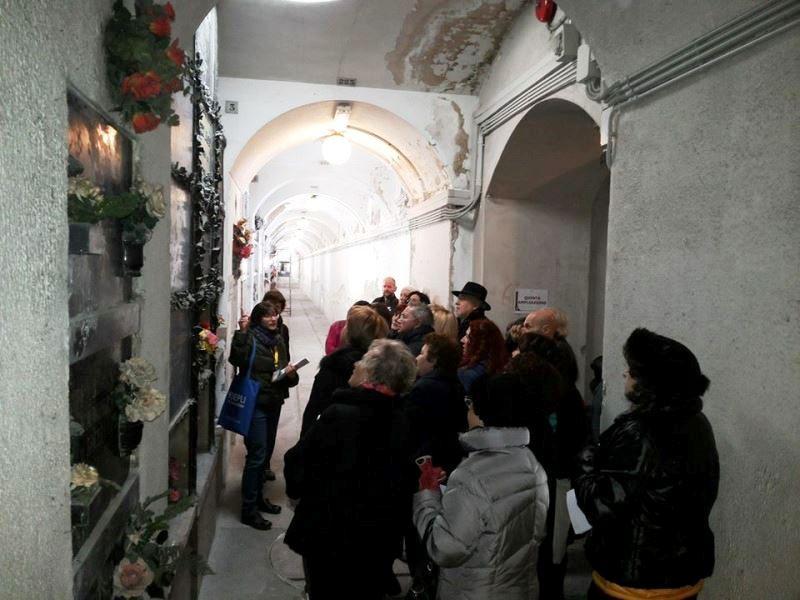 Nei sotterranei del Monumentale... grazie per le foto a CulturalWay