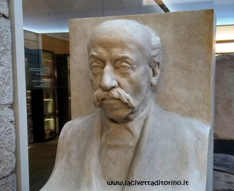 "Leonardo Bistolfi, ""Bernardino Drovetti""."