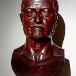 Busto ligneo di Drovetti.