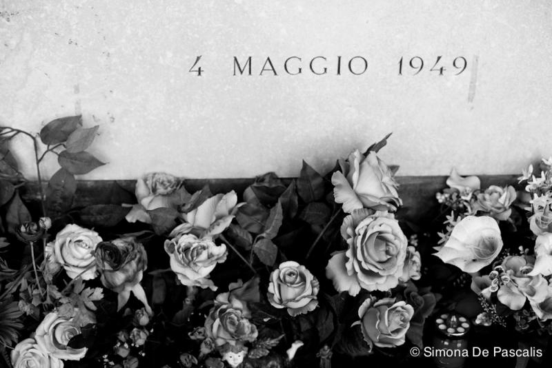 Particolare dell'arcata del Grande Toro, V ampliazione Cimitero Monumentale. Photo by Simona De Pascalis