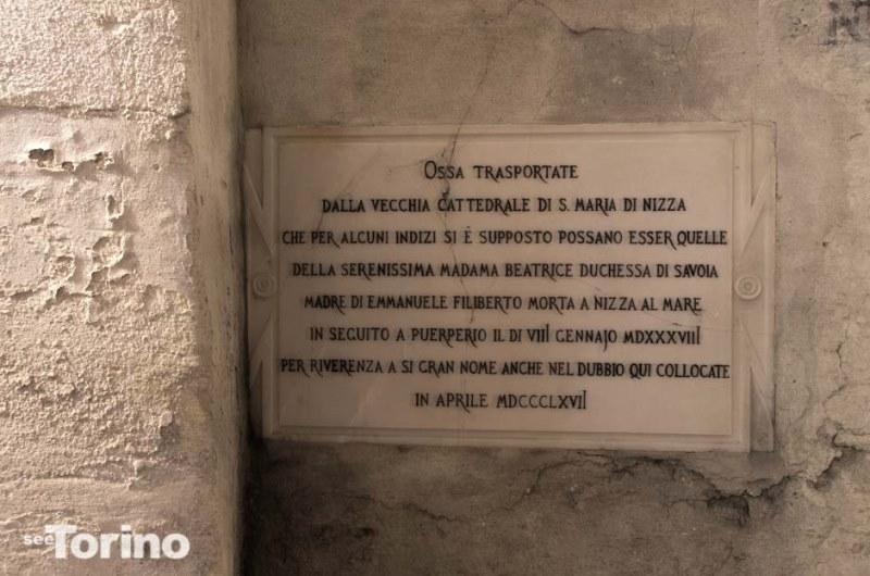 La tomba della duchessa Beatrice. Photo by SeeTorino