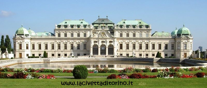 Il Belvedere Superiore di Vienna, uno dei beni ereditati da Vittoria
