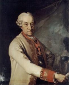 Il marito di Vittoria ritratto intorno al 1768 da Johann Valentin Tischbein