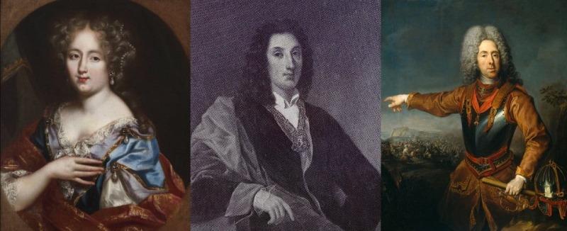 I parenti di Vittoria: la nonna Olimpia Mancini; il padre Luigi Tommaso; lo zio Eugenio