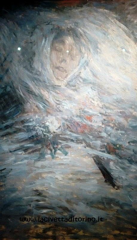 Monet, Camille sul Letto di Morte, 1879.