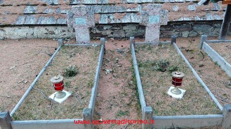 Le tombe dei soldati ritrovati nei ghiacciai nel 2004 e nel 2009