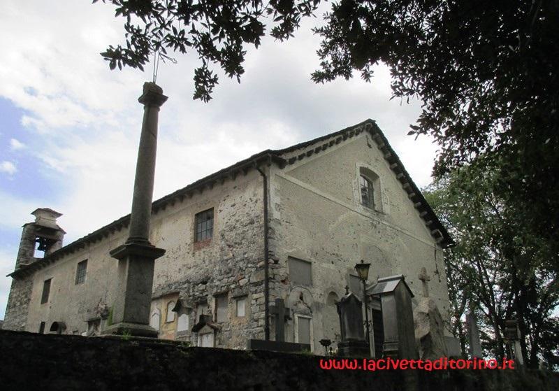 La chiesetta di San Ciriaco