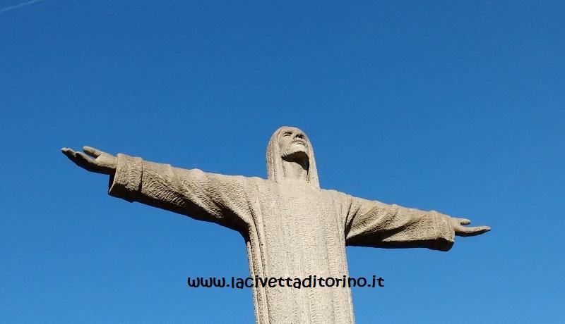 Cristo Redentore del Monumentale di Torino, particolare