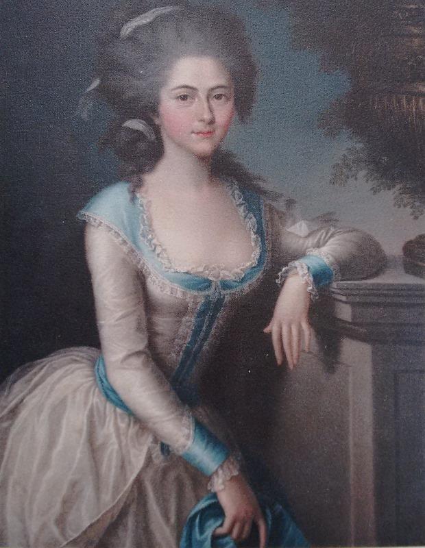 Ludwig Guttenbrunn, Ritratto di Joséphine, 1786, Castello di Racconigi