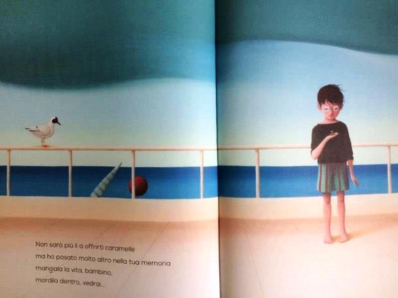 """Immagine tratta dal libro: """"Ho lasciato la mia anima al vento"""" di Roxane Marie Galliez e Éric Puybaret – Emme Edizioni"""