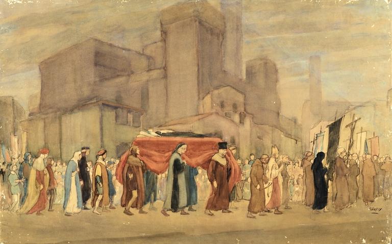 I funerali di Dante